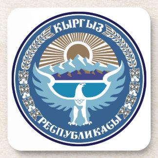 Emblema nacional de Kirguistán Posavasos De Bebida