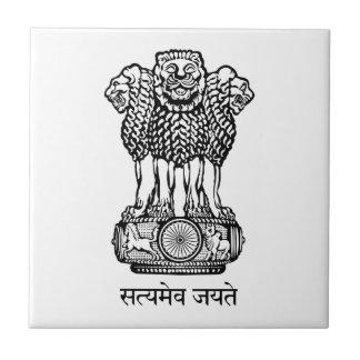 Emblema nacional de la India Azulejos Cerámicos
