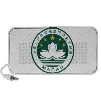 Emblema nacional de Macao (China) Altavoz De Viaje