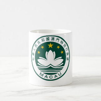 Emblema nacional de Macao (China) Tazas