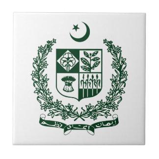 Emblema nacional de Paquistán Teja Ceramica