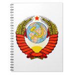 Emblema nacional de Unión Soviética Cuaderno