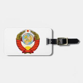 Emblema nacional de Unión Soviética Etiquetas Bolsa