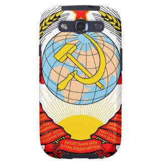 Emblema nacional de Unión Soviética Samsung Galaxy S3 Funda