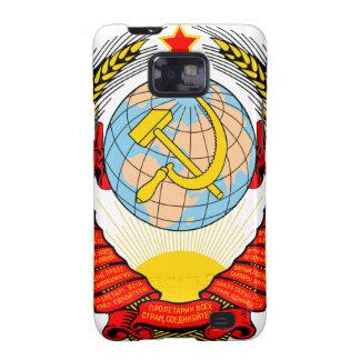 Emblema nacional de Unión Soviética Samsung Galaxy S2 Carcasa
