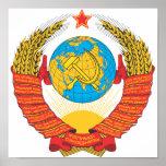 Emblema nacional de URSS Posters