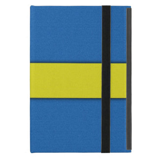 Emblema nacional escandinavo de la bandera sueca iPad mini carcasa