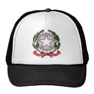 Emblema nacional italiano gorra