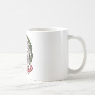 Emblema nacional italiano tazas de café