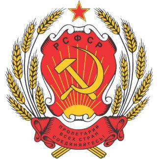 Emblema nacional socialista de Rusia Fotoescultura Vertical