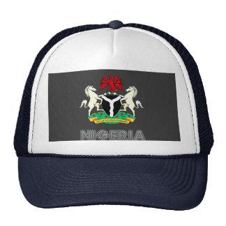 Emblema nigeriano gorras de camionero