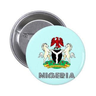 Emblema nigeriano pins
