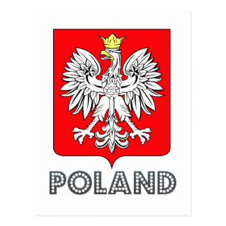 emblema polaco postales
