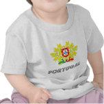 Emblema portugués camisetas