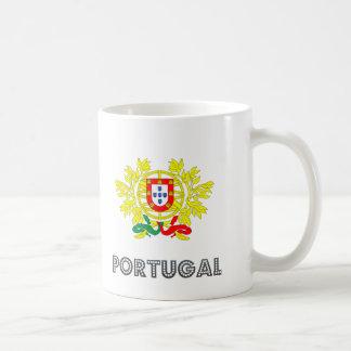 Emblema portugués taza