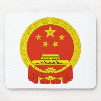Emblema República Popular China Tapete De Ratón