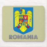 Emblema ruso alfombrillas de ratón