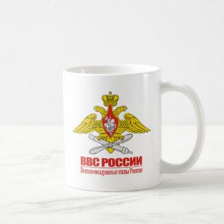 """""""Emblema ruso de la fuerza aérea """" Taza"""