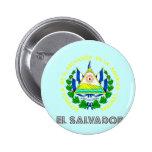 Emblema salvadoreño pin