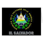 Emblema salvadoreño tarjeton