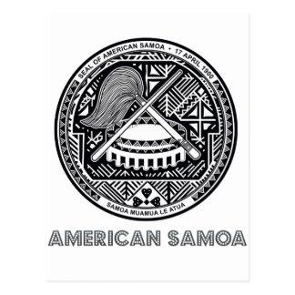 Emblema samoano postal