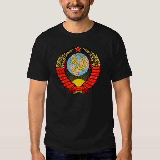 Emblema soviético playeras