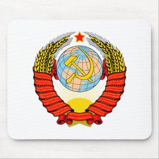 Emblema soviético tapete de raton