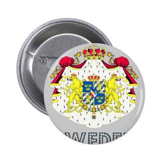 Emblema sueco pin