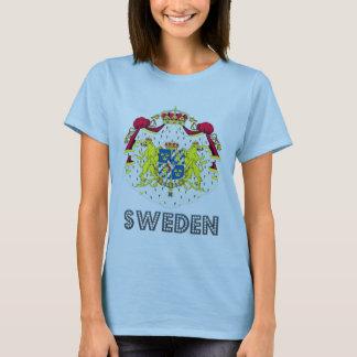 Emblema sueco playera