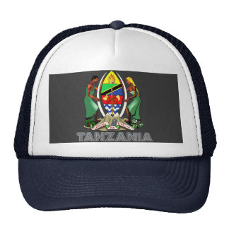 Emblema tanzano gorros bordados