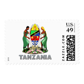 Emblema tanzano franqueo