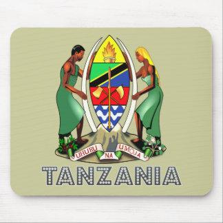 Emblema tanzano alfombrillas de raton