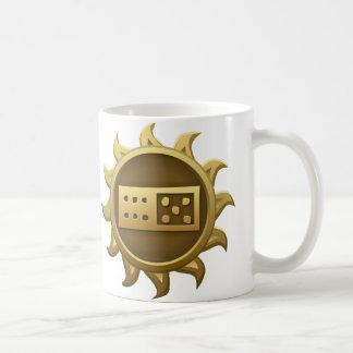 Emblema Tii de la interferencia Tazas De Café
