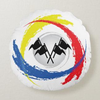 Emblema tricolor de la velocidad fresca del coche