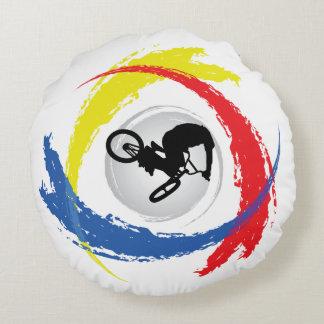 Emblema tricolor fresco de BMX