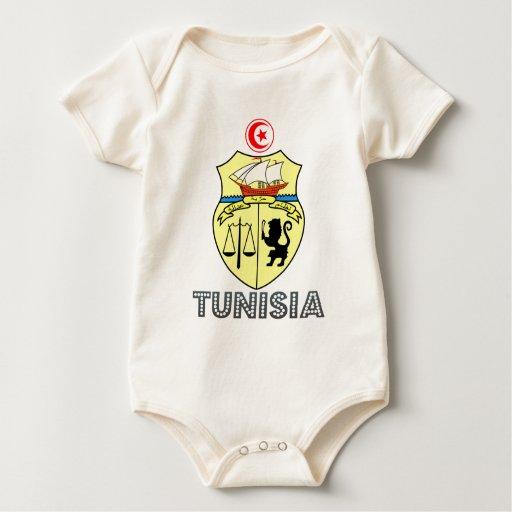 Emblema tunecino body para bebé
