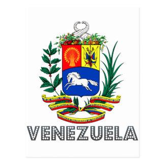 Emblema venezolano postales