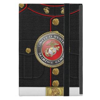 Emblema y uniforme 3D del USMC iPad Mini Cárcasas