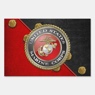 Emblema y uniforme [3D] del USMC Señal