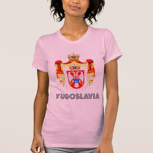 Emblema yugoslavo camiseta