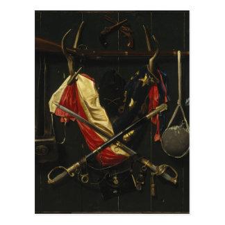 Emblemas de Alexander Pope de la guerra civil Tarjeta Postal