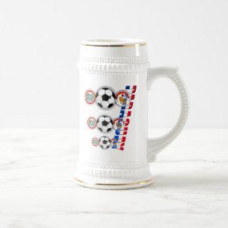 Emblemas del futbol de Paraguay y regalos del logo Taza De Café