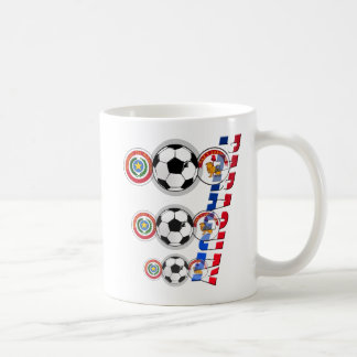 Emblemas del futbol de Paraguay y regalos del logo Tazas De Café