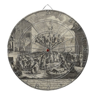 Emblematical print of the South Sea Scheme Dartboards