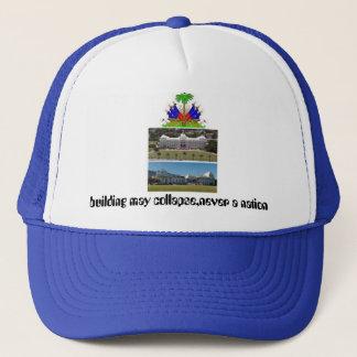 Embleme haiti les armes de la republique, haiti... trucker hat
