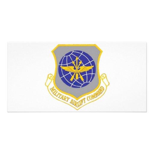 Emblems Militery Photo Card