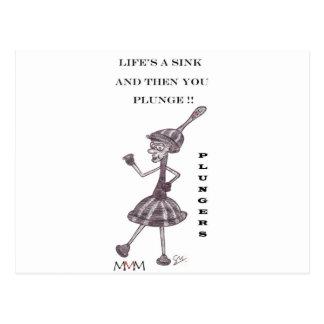 Émbolo - Lifes un fregadero y entonces usted Tarjetas Postales