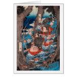 Emboscada del samurai tarjetón