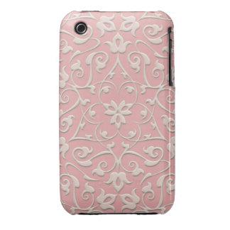 Embossed Arabesques iPhone 3gs Case