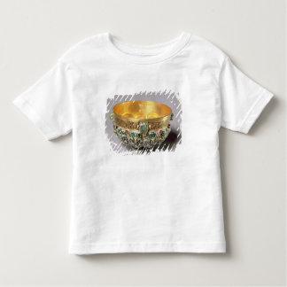 Embossed bowl set toddler t-shirt